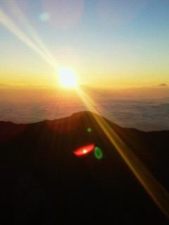20100821燕岳山頂にて!