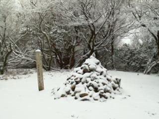20111217忘年山行は愛宕二山!