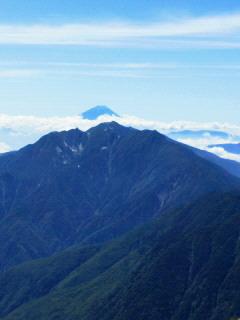 20120803甲斐駒ヶ岳!