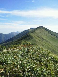 20120915飯豊・薬師岳