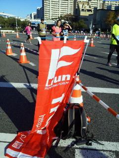 20121125神戸マラソンの応援!