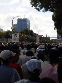 20130127大阪国際♀マラソン付録のハーフマラソン